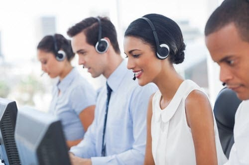 employment tests for call centers