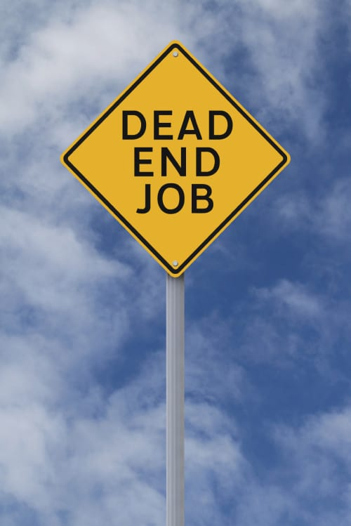 definition of work dead-end-job-istock