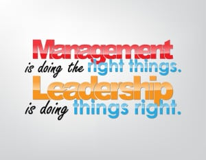 manager vs leaders
