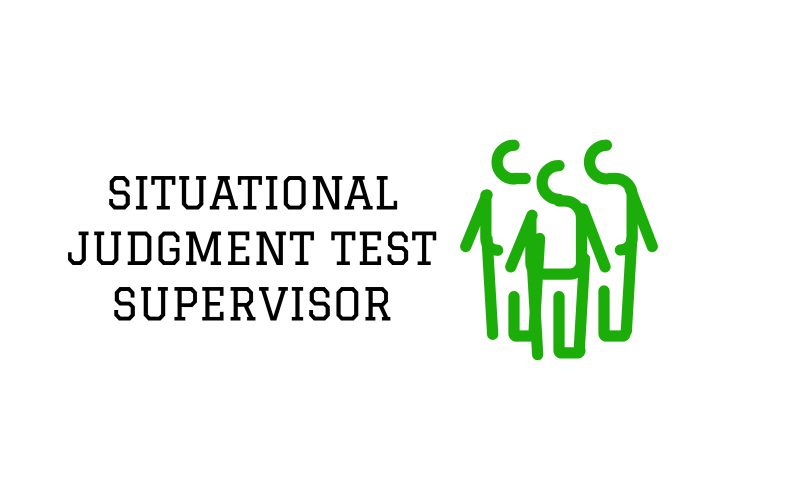 Situational Judgement Test Examples
