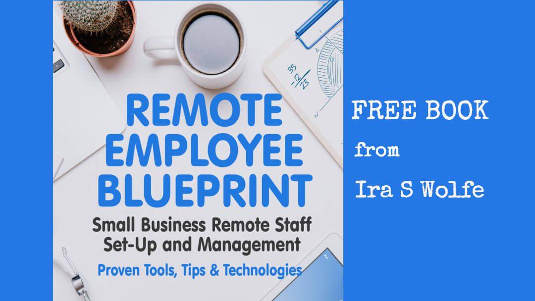 remote employee blueprint ebook ira s wolfe