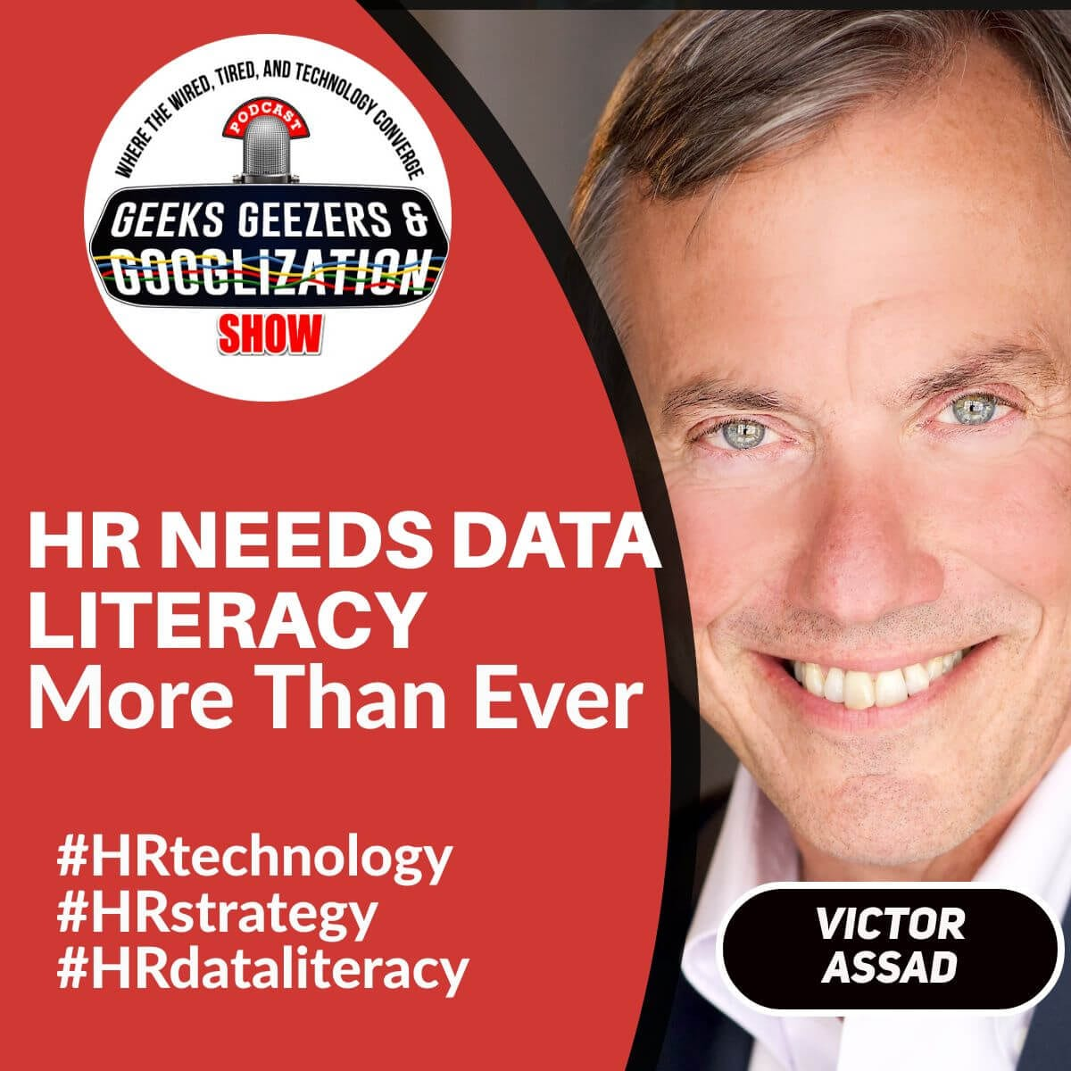 [Podcast] HR Needs Data Literacy More Than Ever with Victor Assad