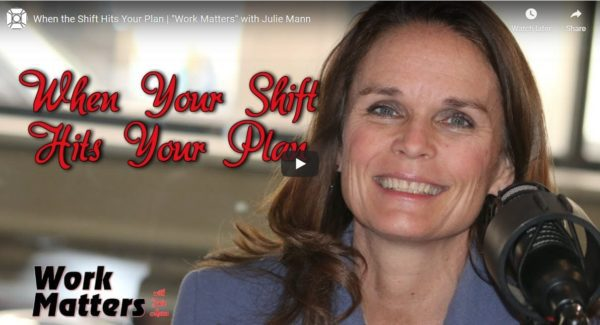 Work Matters #2, When the SHIFT Hits Your Plan, Ira S Wolfe