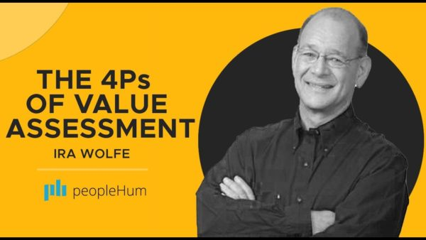 Ira S Wolfe, 4Ps of Value Assessment, PeopleHum