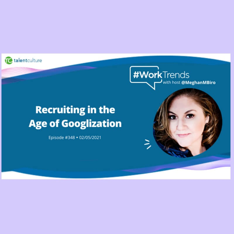 worktrends, recruiting in the age of googlization, ira wolfe