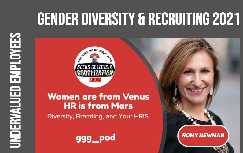 [PODCAST] Gender Diversity, Recruiting 2021   Geeks Geezers Googlization 4010