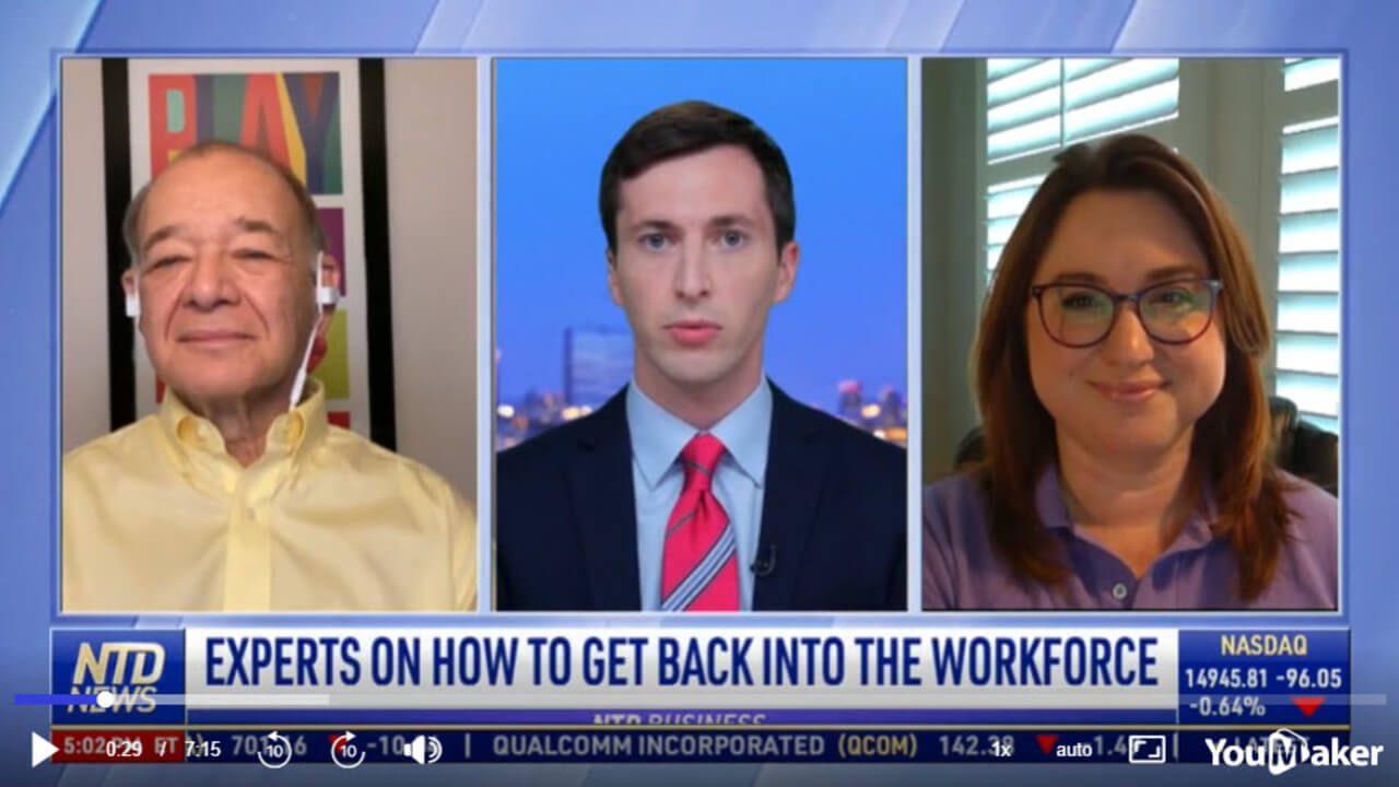 Ira S Wolfe, re enter workforce, jobs, unemployment